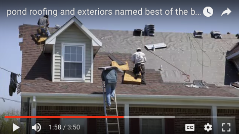 Superior Residential Roofing Services | Fairfax, Arlington, VA | Pond Roofing